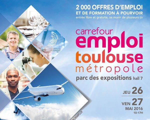 Image affiche Carrefour Emploi 2016