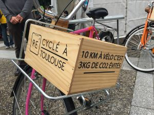 Livraison de vélos recyclés pour Toulouse Métropole