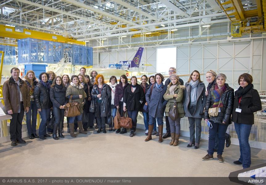 Visite Airbus
