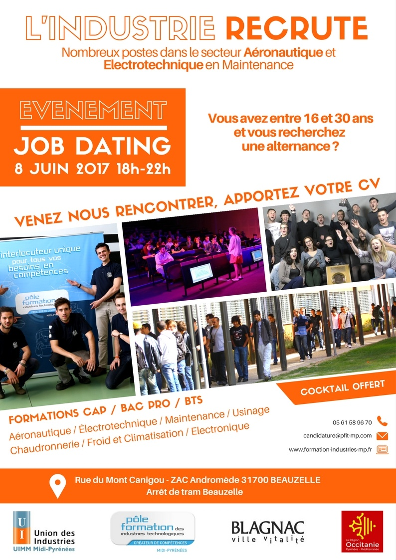 job dating pole emploi septembre 2017
