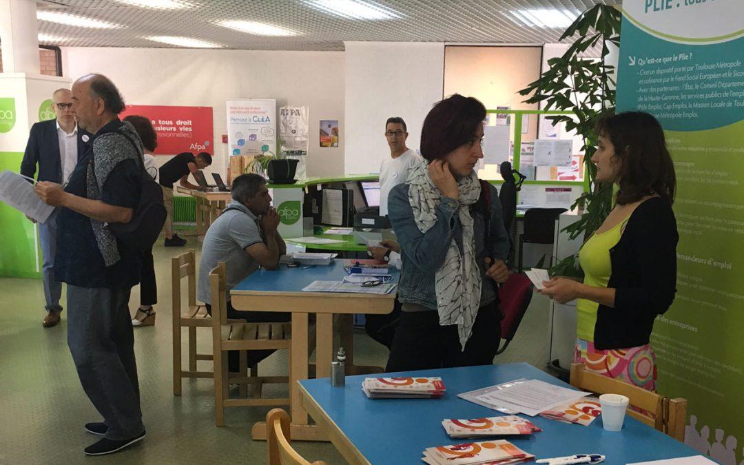 Le PLIE à la Journée Portes ouvertes AFPA Toulouse
