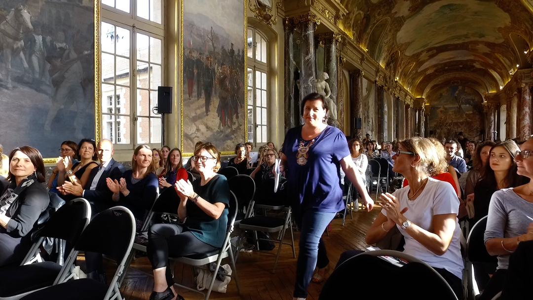 Une Participante du PLIE intervient au Forum ELLE Active et nous raconte son expérience personnelle