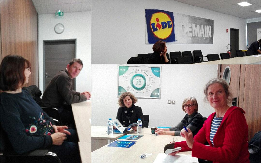 Visite PLIE chez Lidl Toulouse