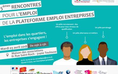 5èmes rencontres pour l'emploi de la Plateforme Emploi Entreprises