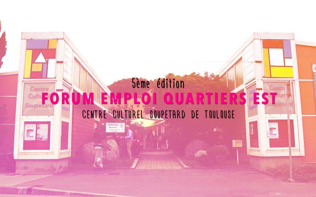 Vidéo Forum Emploi au centre culturel Soupetard