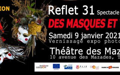 La représentation de l'action Théâtre du PLIE portée par Reflet 31 programmée !